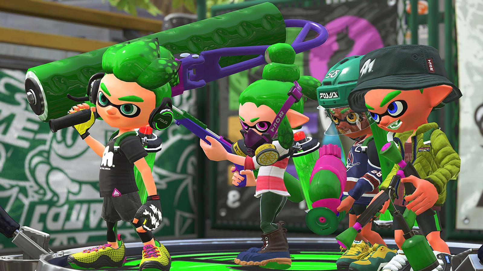 Splatoon 2 Habra Beta Abierta Gratis Para Nintendo Switch En Marzo