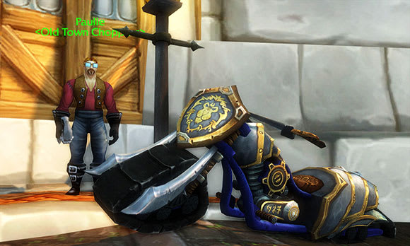 Alliance chopper now for sale in Stormwind