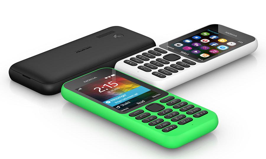 El nuevo Nokia 215 es ridículamente barato (video)