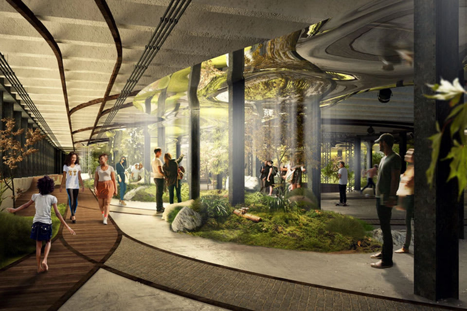 New York is getting a crowdfunded, sunlit underground park