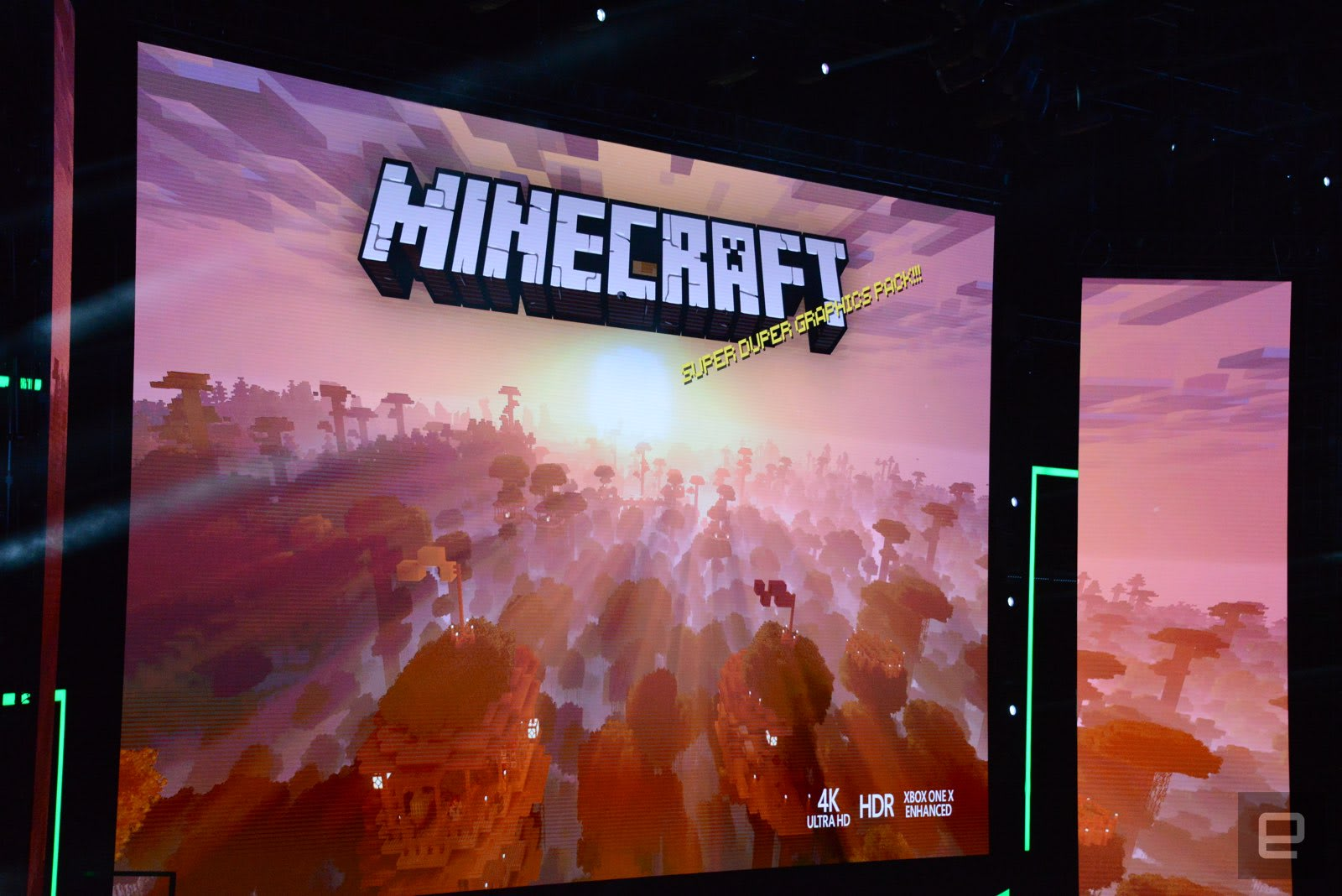 Minecraft' makes the leap to 4K this fall