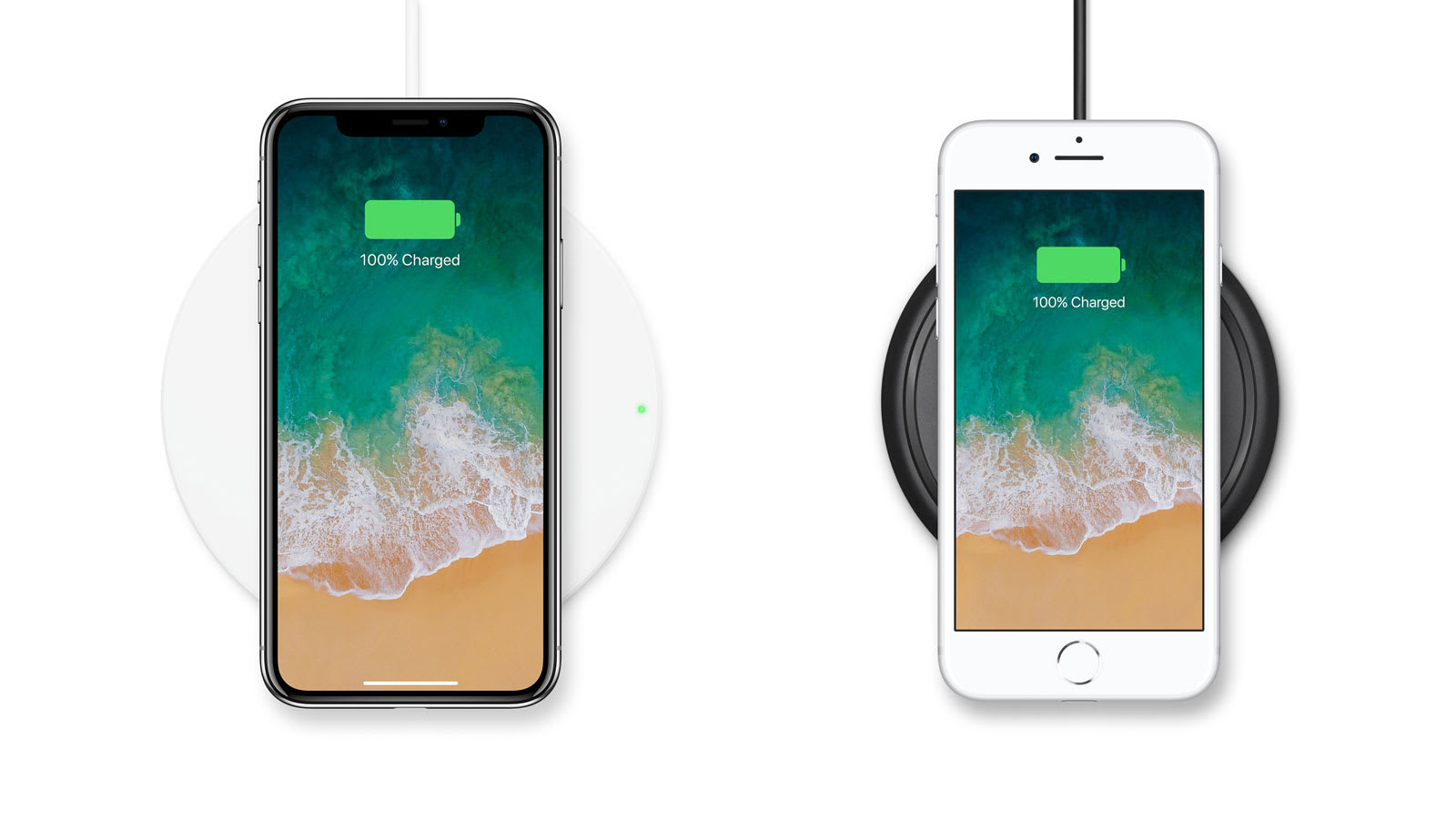 Belkin and Mophie offer wireless charging pads for the new