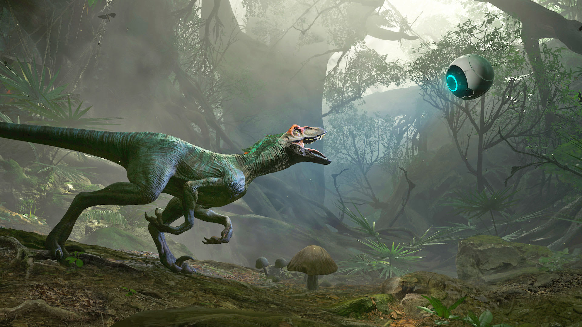 7244bc47606a Virtual reality is the best (and safest) way to get up close and personal  with dinosaurs. And next month folks with Oculus Rift headsets can do just  that ...