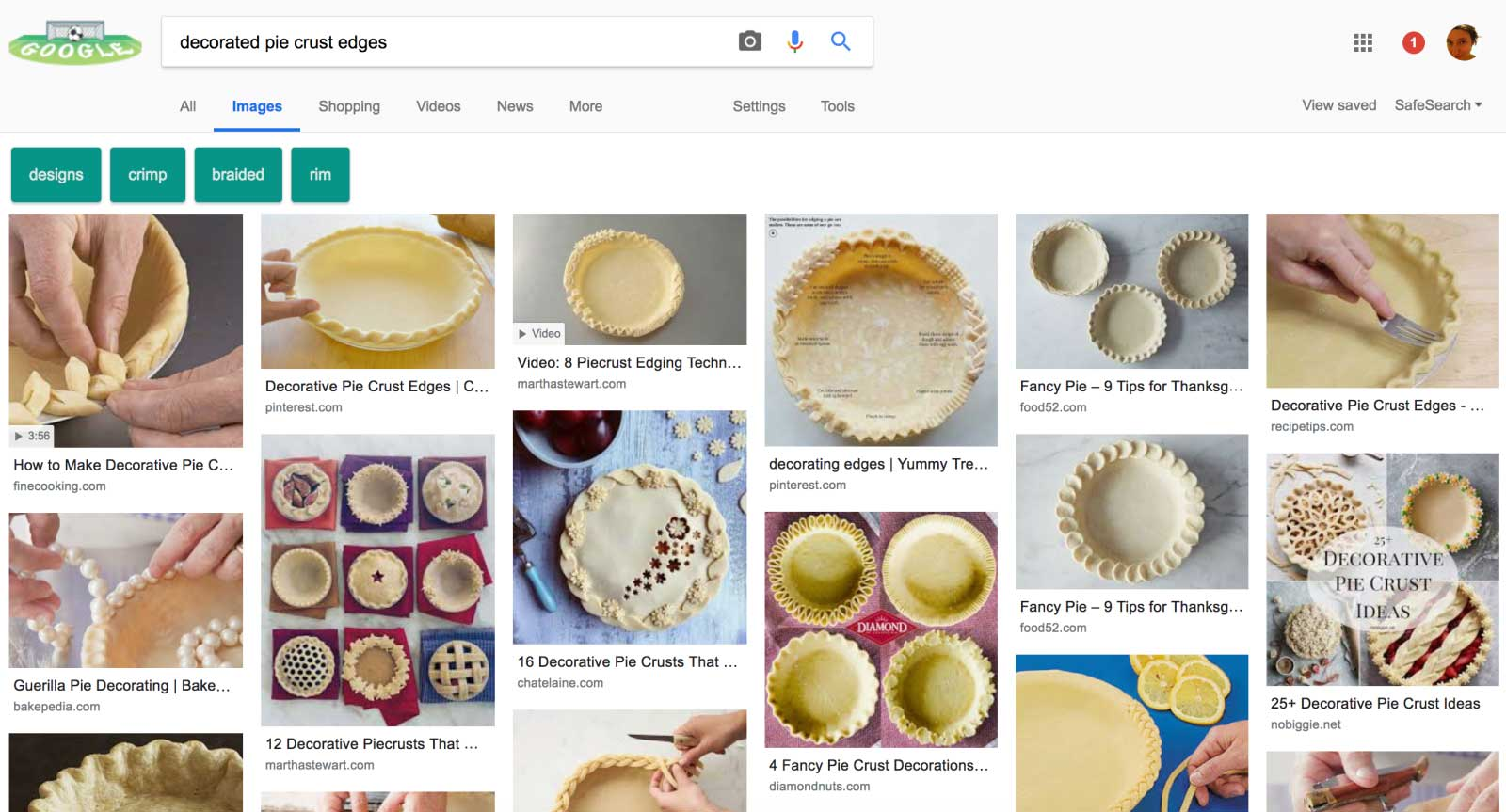 5ee80d9b9f7420 Google tests Pinterest-like layout for image search