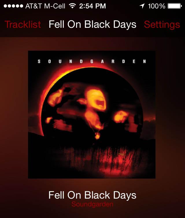 Listen to Soundgarden in DTS 11 1 sound on your headphones