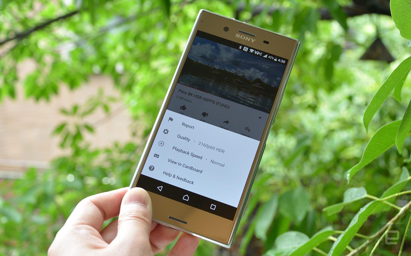 3e76b4e9e YouTube brings playback speed choices to mobile