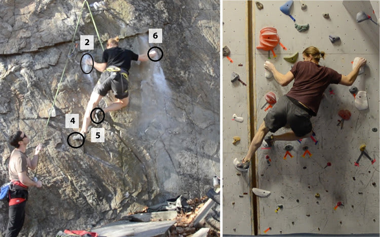 3D modeling helps gym climbers replicate real mountain routes