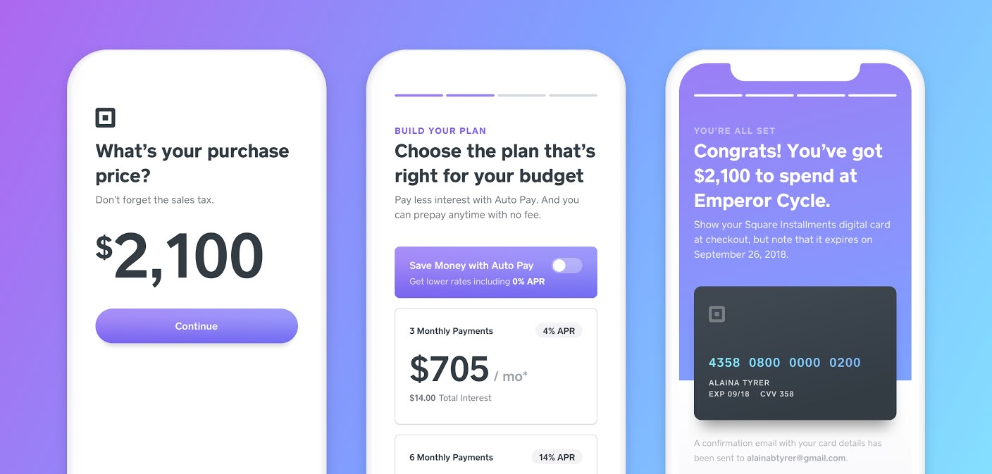 Square adds payment installment plans to its merchant tools