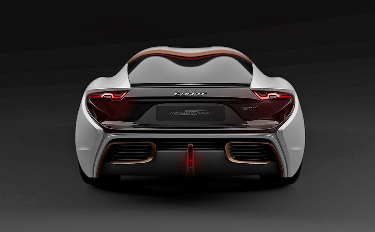 Supercar concept runs on electrolyte fluids