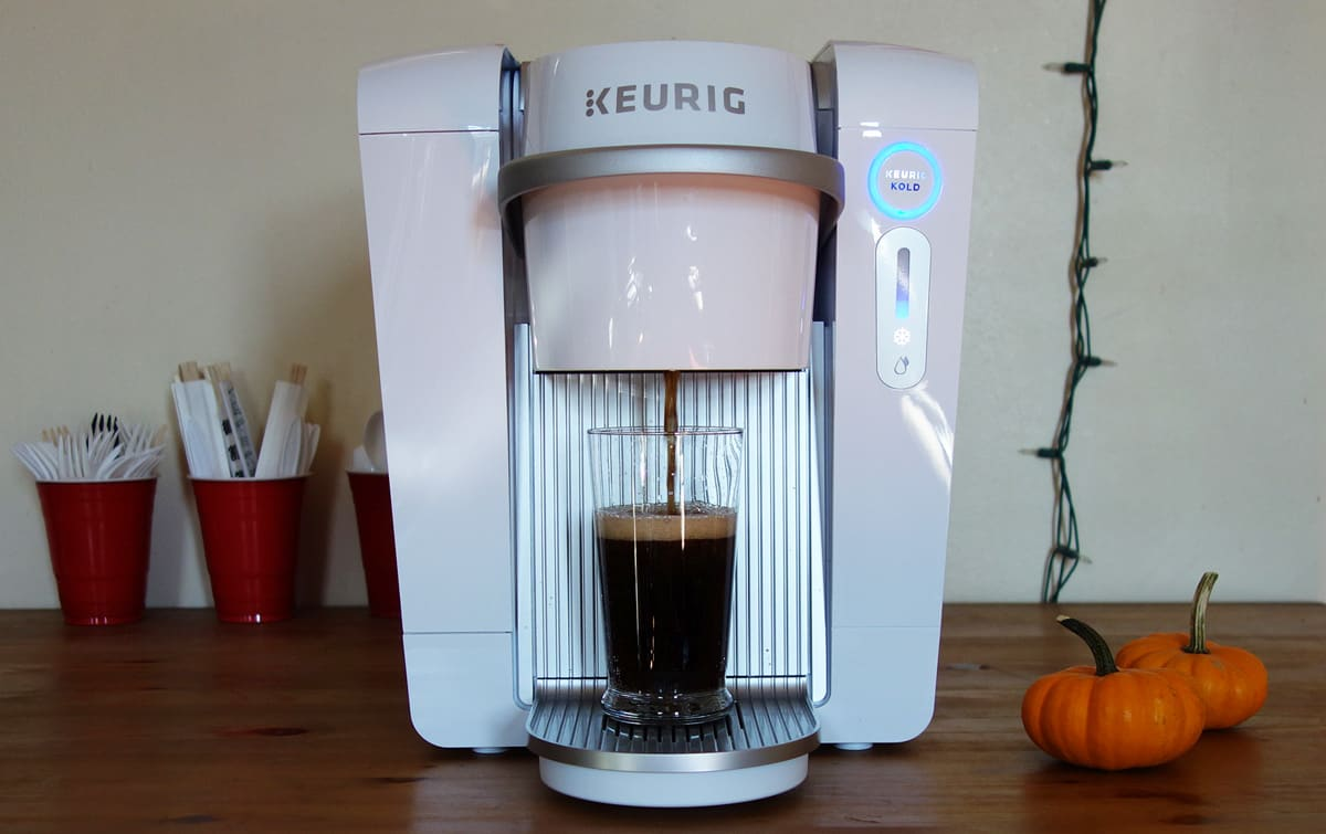 The Keurig Kold: You could just buy a mini-fridge instead