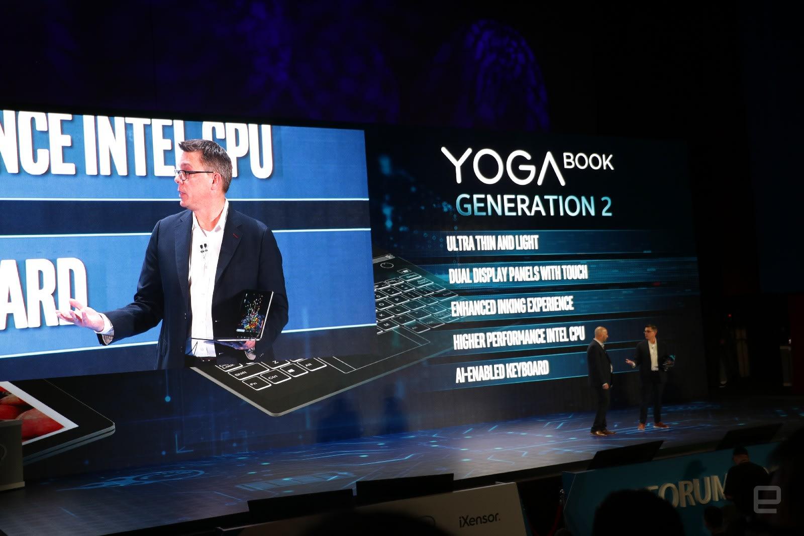 Lenovo's new Yoga Book actually has dual screens