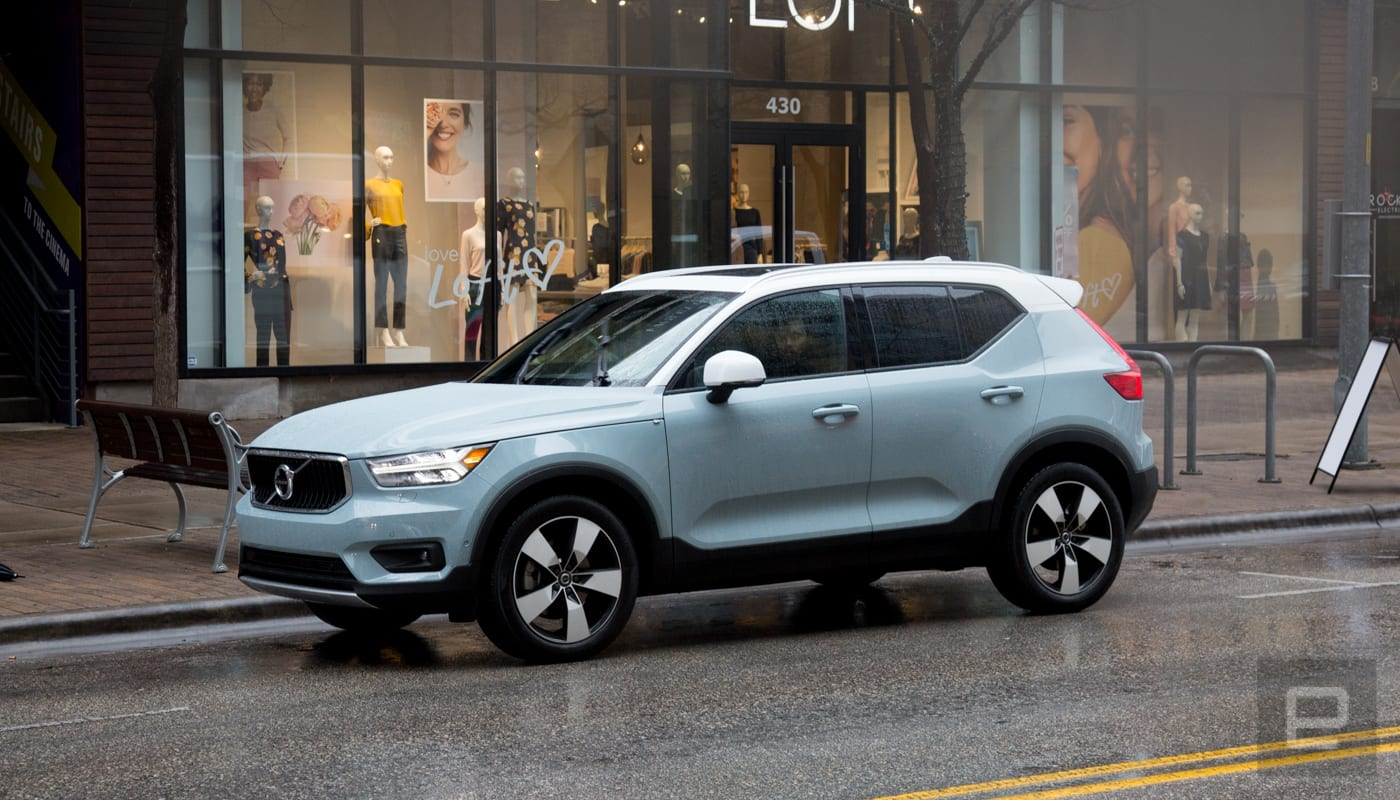 All you need for a Volvo XC40 subscription is your iPhone