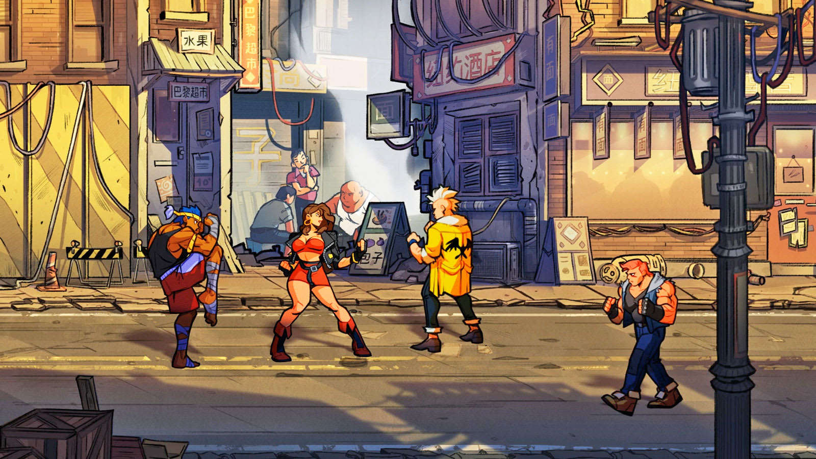 streets of rage 4 revives sega s beat em up classic