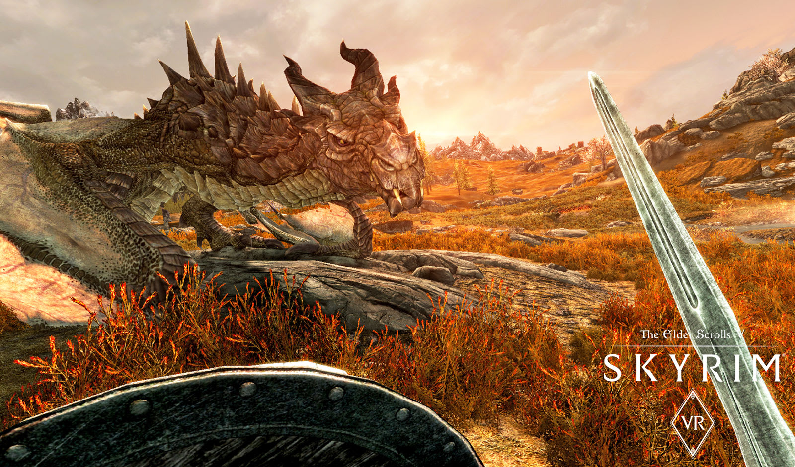 Skyrim VR' is now easier to play and better to look at