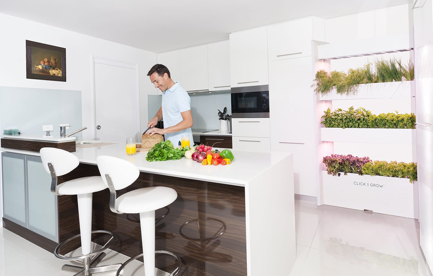 Raise veggies like an astronaut with these Wall Farms
