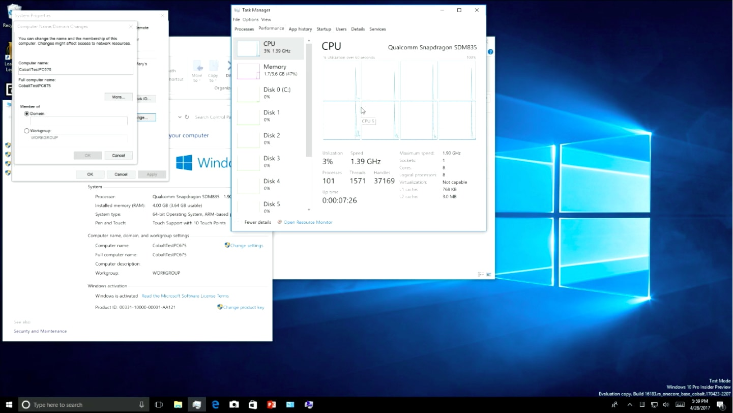 Windows 10 will seamlessly run legacy apps on ARM