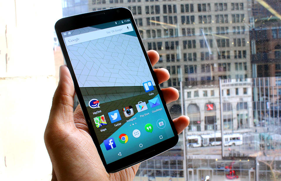 Google's Nexus 6 is a high-powered handful (hands-on)
