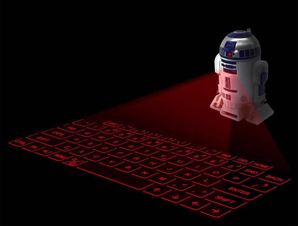 Qwertz Droide R2 D2 Als Virtuelle Tastatur