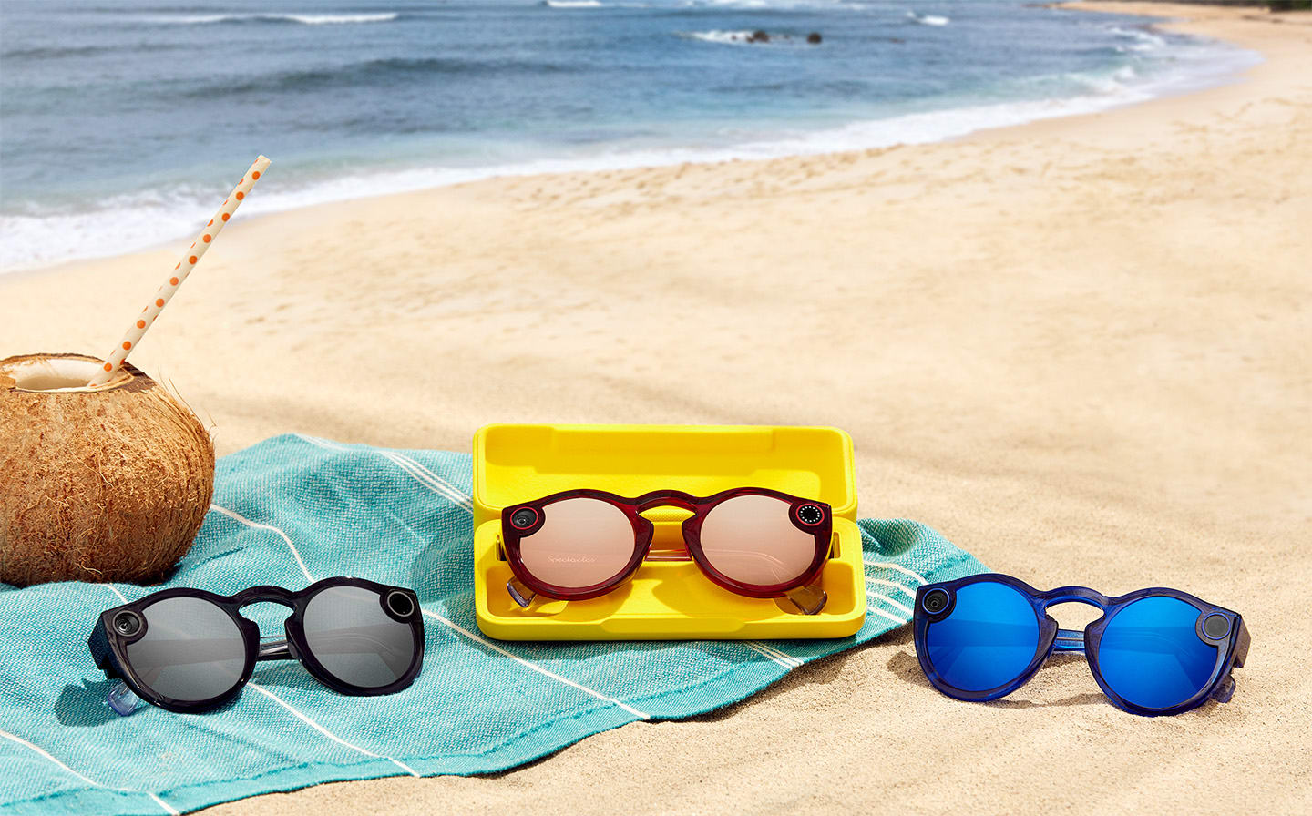9bb52360af80 Snap now sells its second-gen Spectacles on Amazon