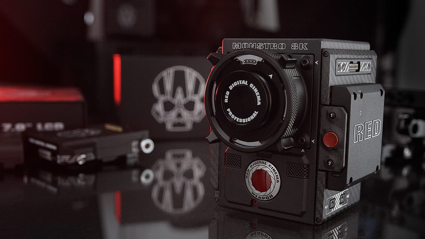 Red Monstro 8k Vv Der Neue Traum Für Kameraleute