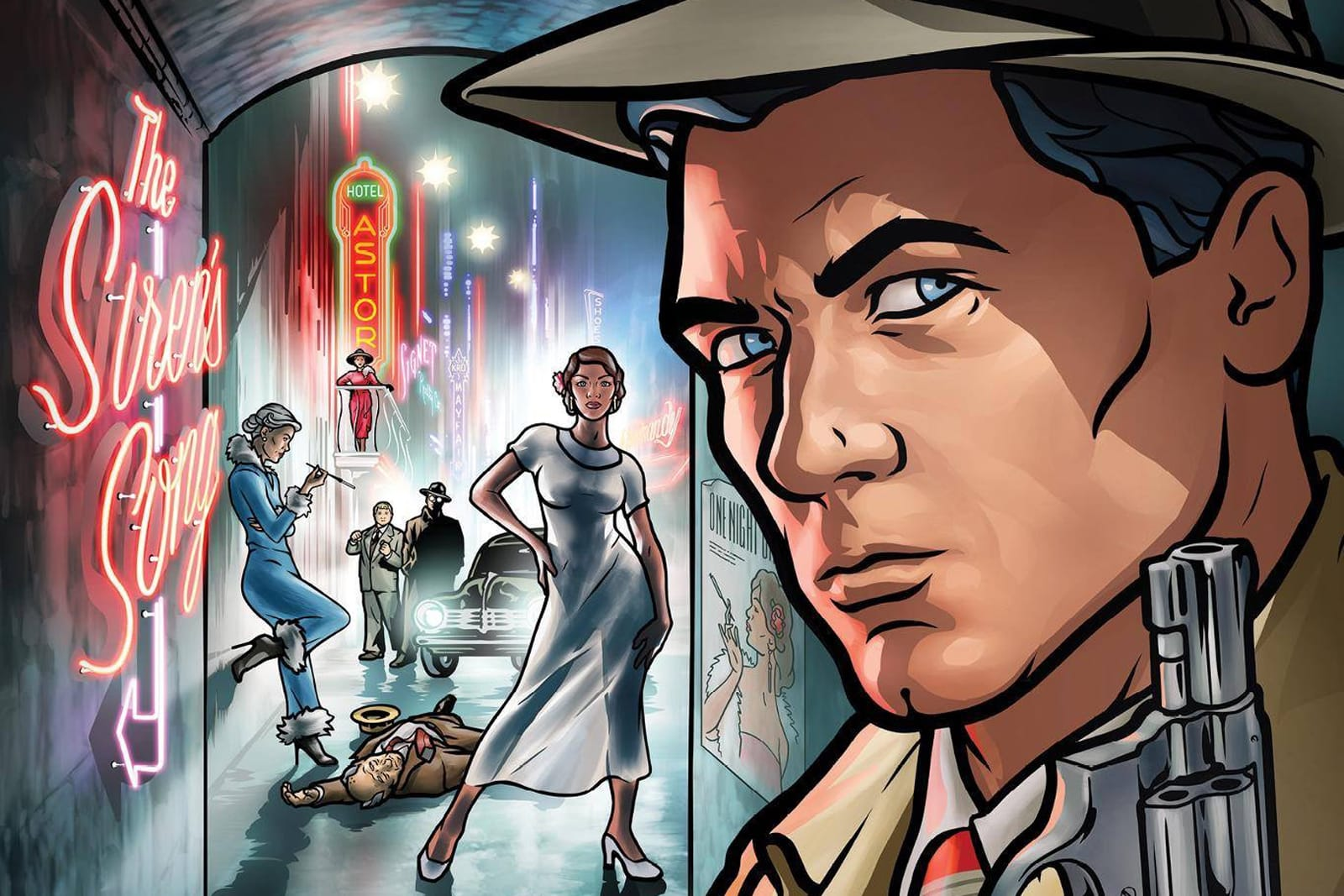 'Archer' mobile game asks you to break out your printer
