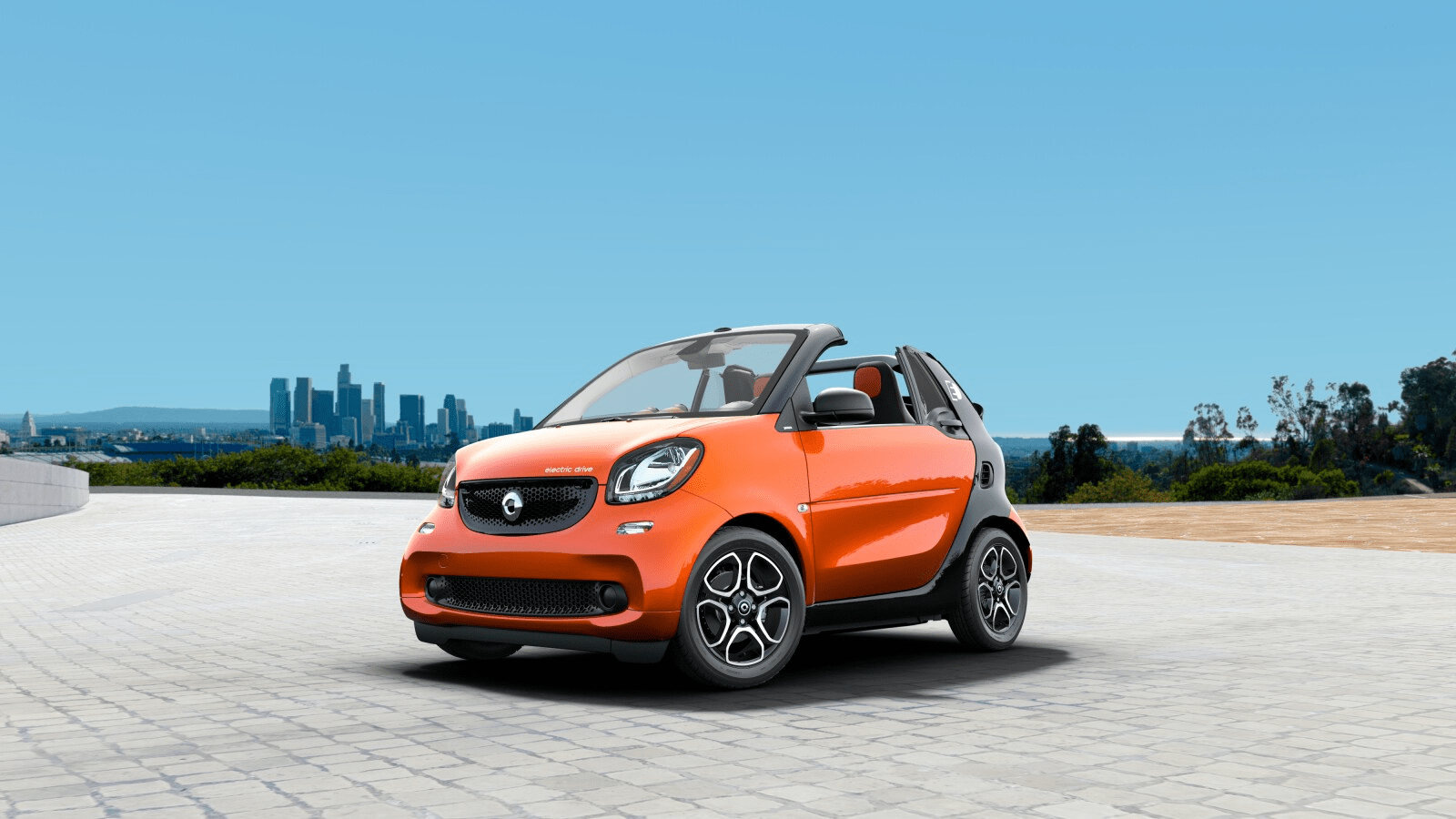 Fortwo Electric Drive Passion Cabrio