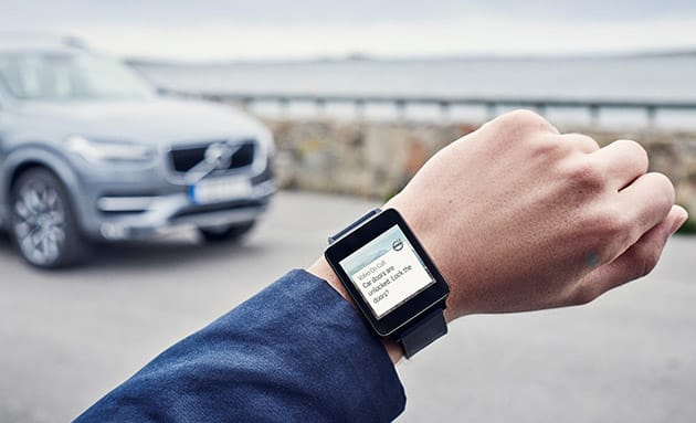 Volvo's On Call app can control your car from a smartwatch