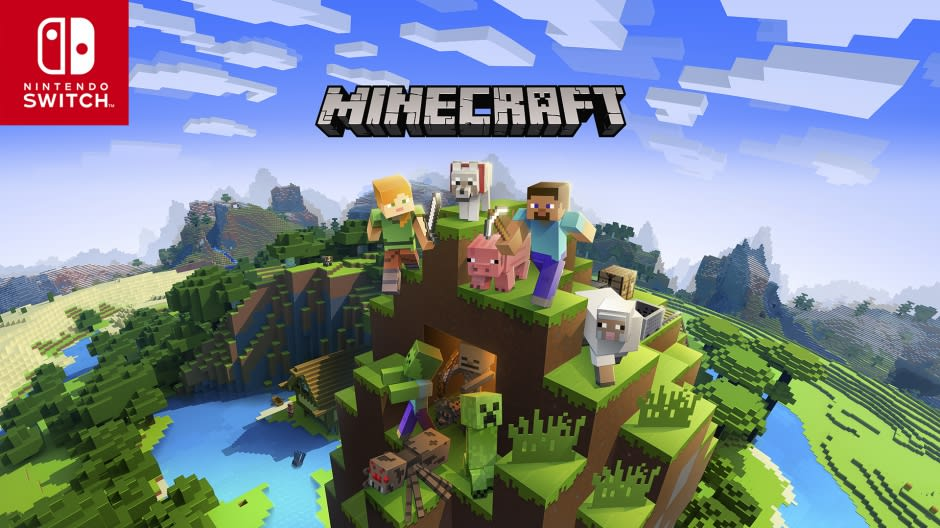 Minecraft' update brings cross-platform play to Nintendo