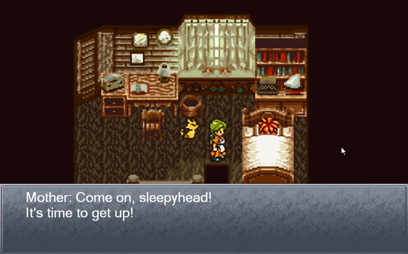Image result for Chrono Trigger wake up
