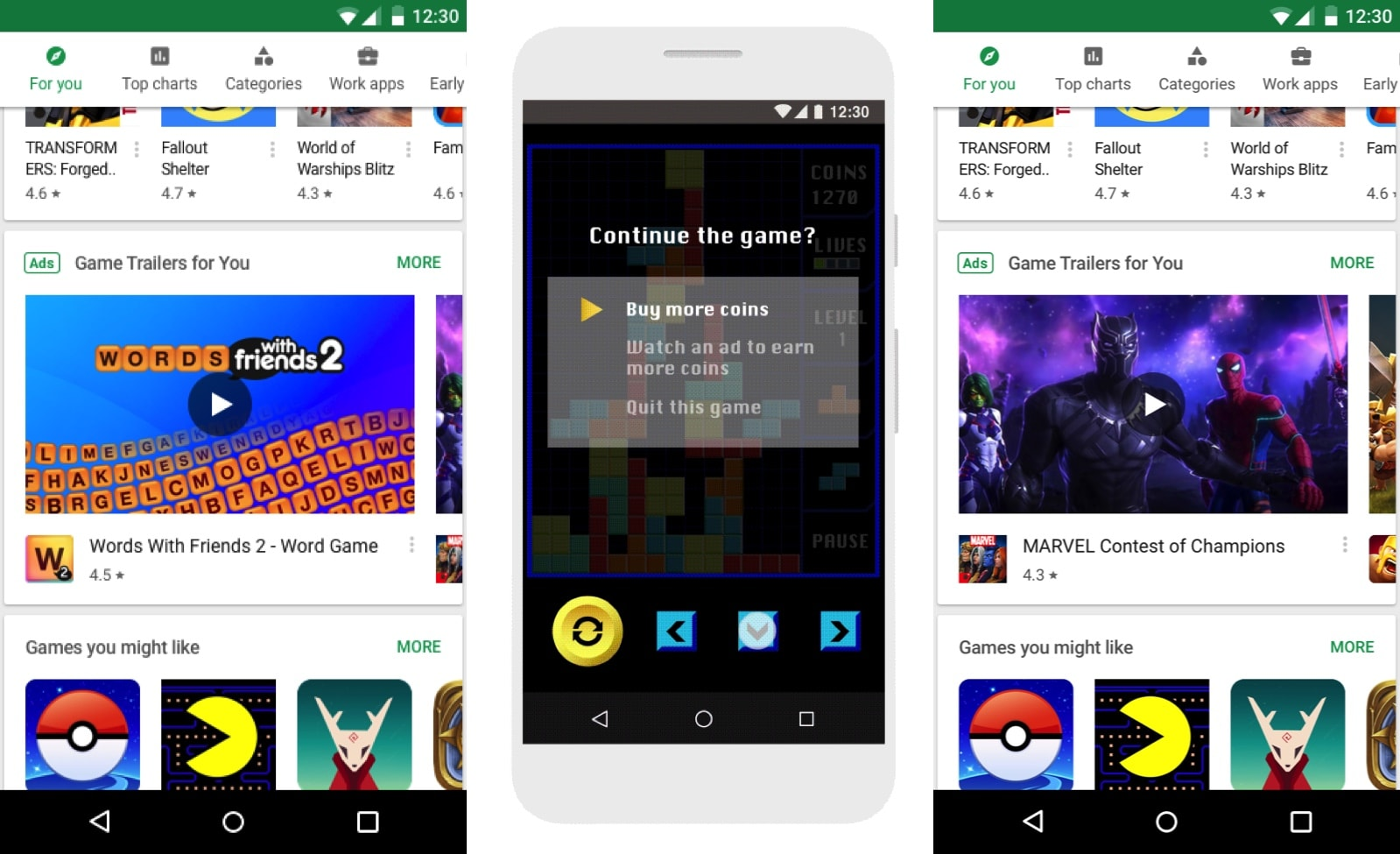 Google to test video ads on the Play Store