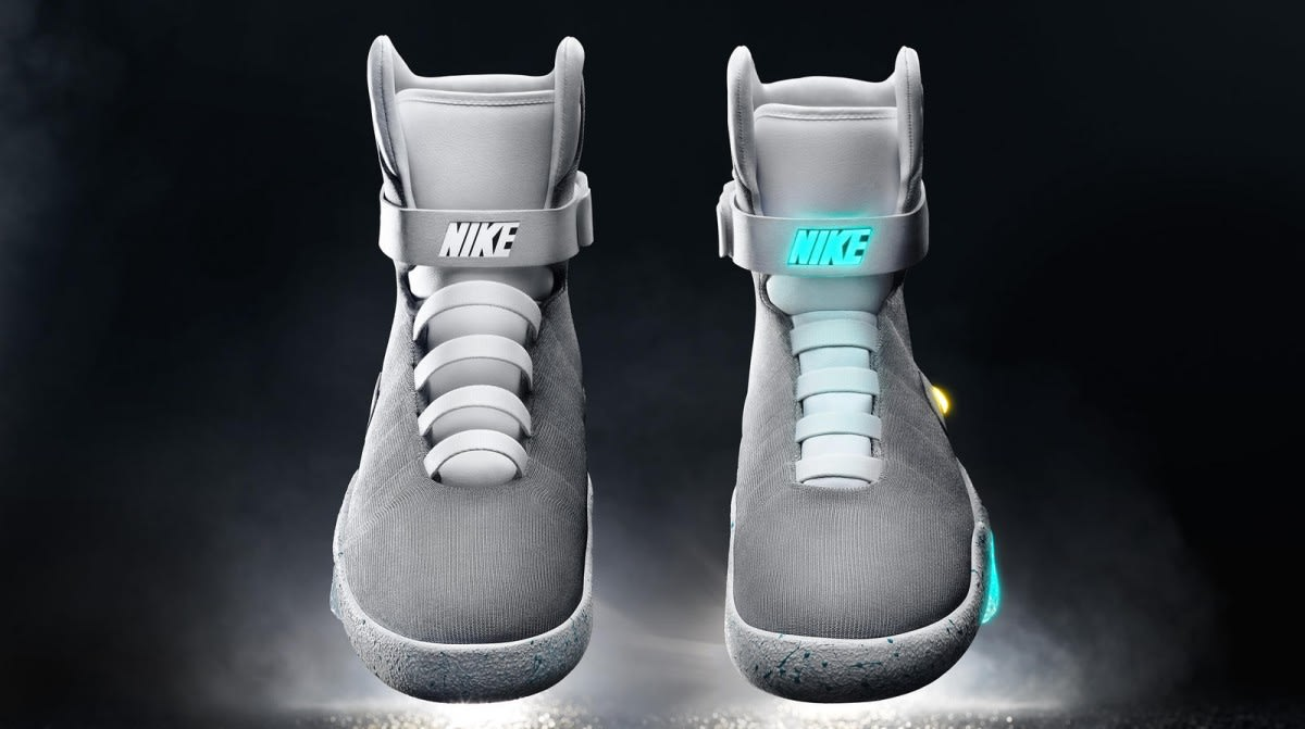 812b2f48621 Counterfeiters already have fake 'BTTF' Nikes with power laces