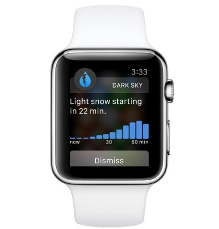 The first Apple Watch apps are already here