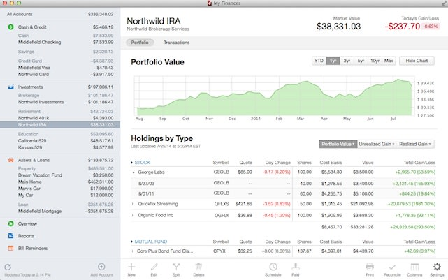 intuit releases quicken 2015 for mac with stock tracking