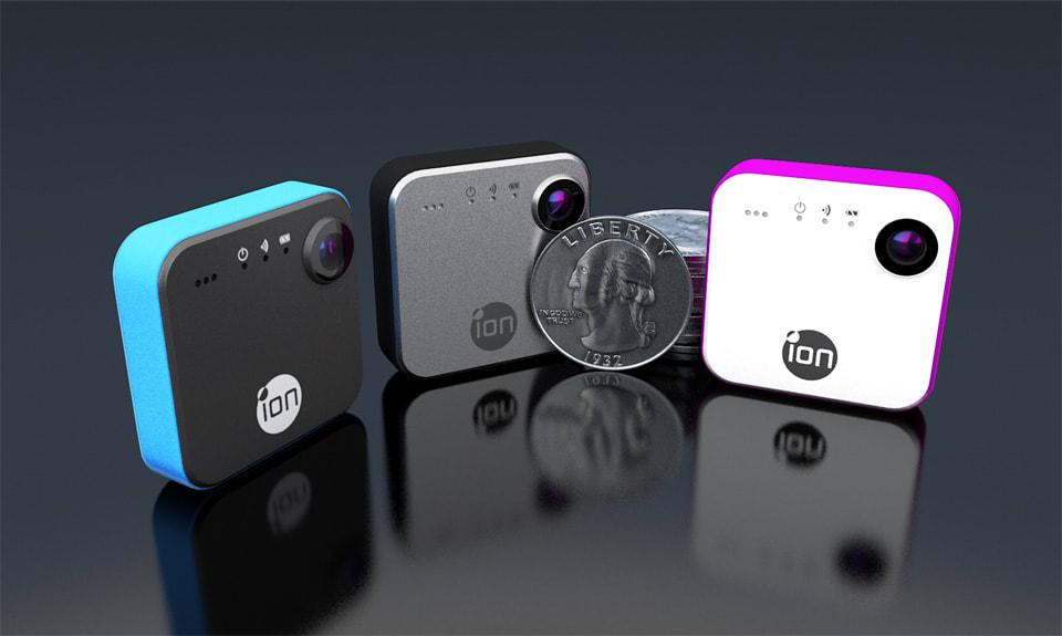 Ion presenta su cámara personal SnapCam de 150 dólares