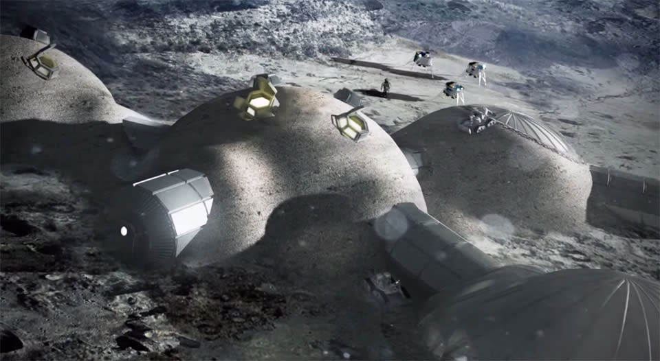 The Big Picture: building a 3D-printed moon base