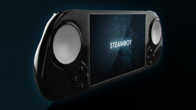 Someone is making a handheld Steam game system