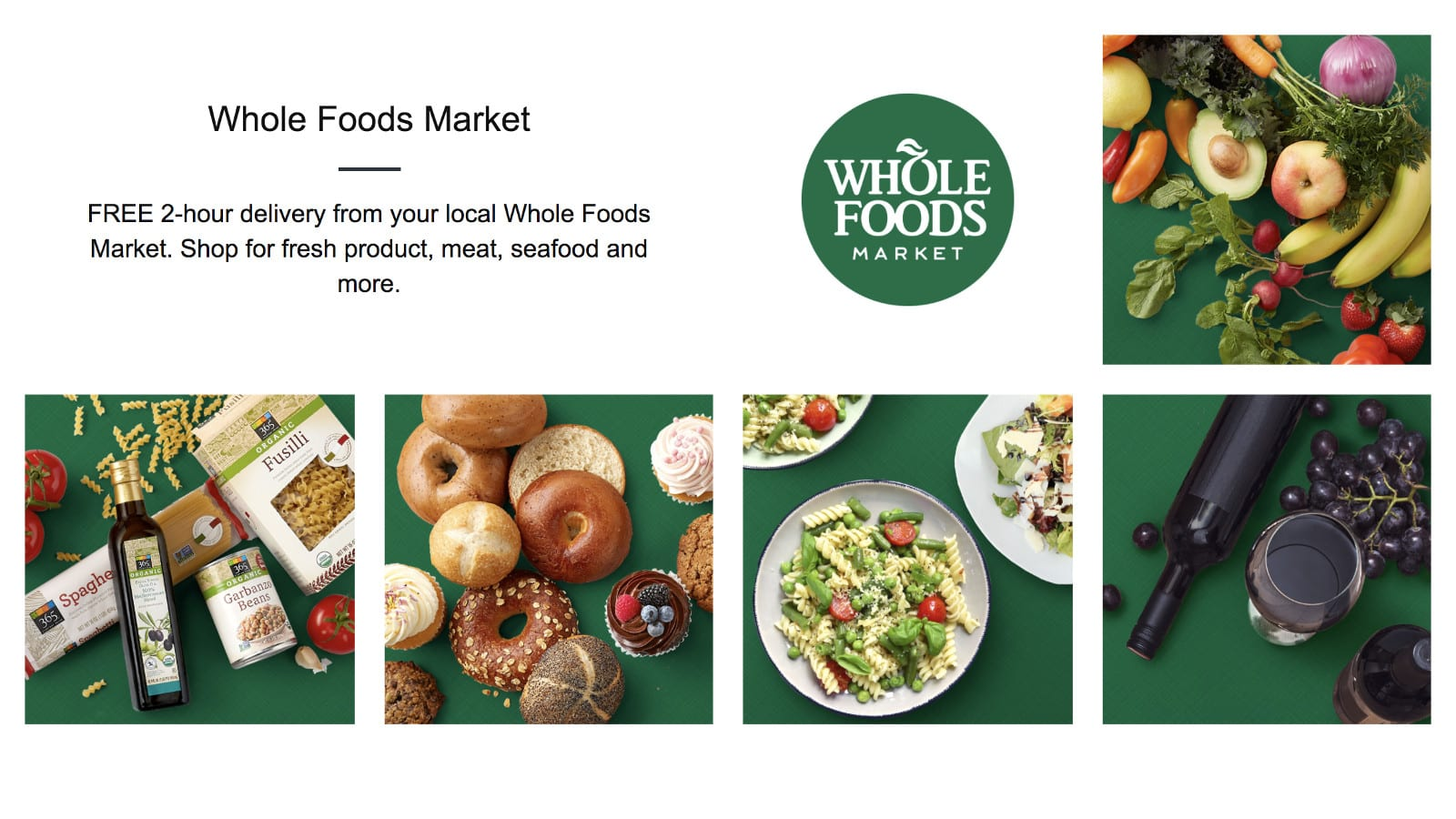 Amazon now delivers Whole Foods products to your home in two