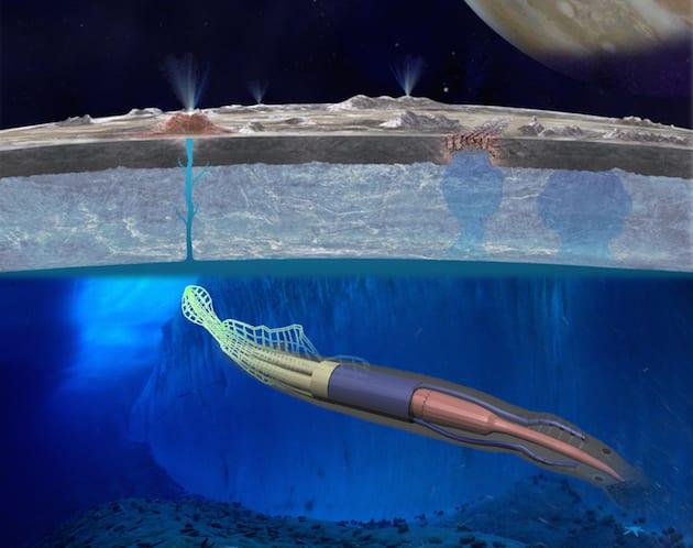 NASA thinks a robotic eel might be the key to exploring Europa