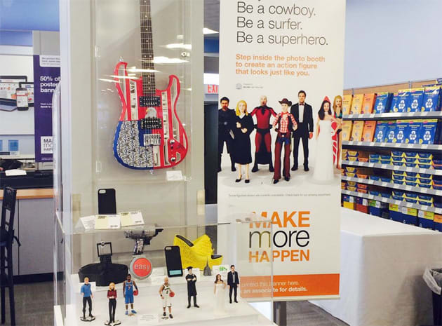 Staples is launching an in-store 3D printing service