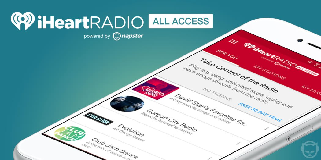 IHeartRadio app gets on-demand features through Napster