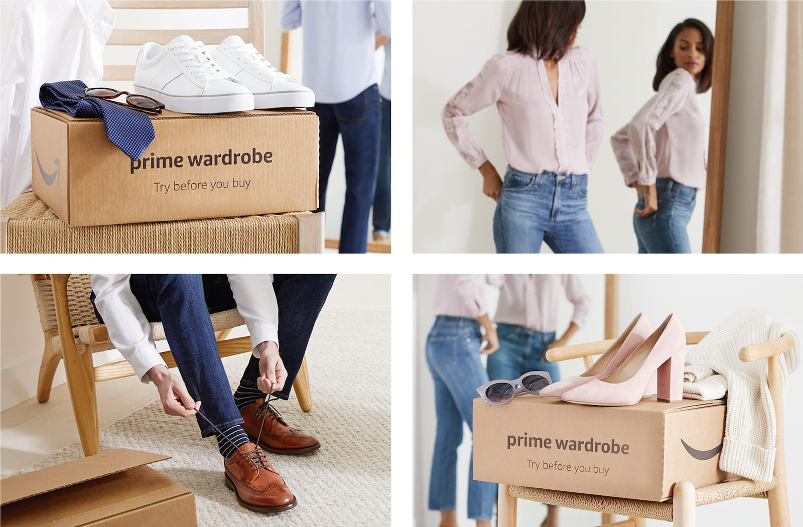 all amazon prime members can now try clothes before they buy