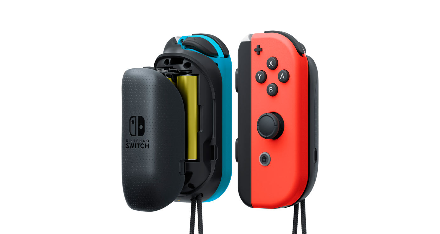 Nintendo announces Joy-Con battery grips for Switch controllers