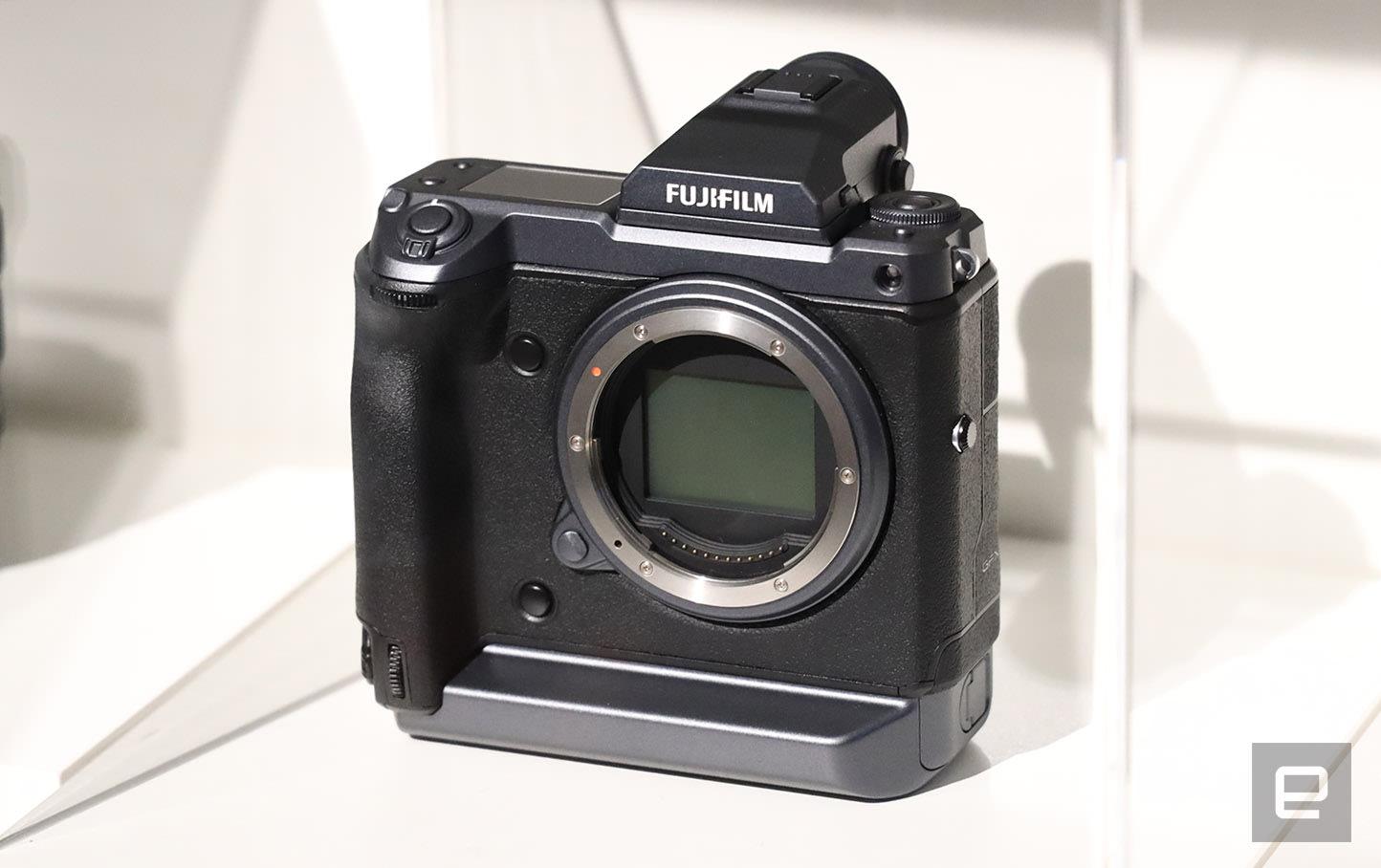 Fujifilm shows off an insane 100-megapixel medium format camera