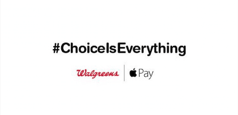 Walgreens trolls competitors by calling Apple Pay support a choice issue