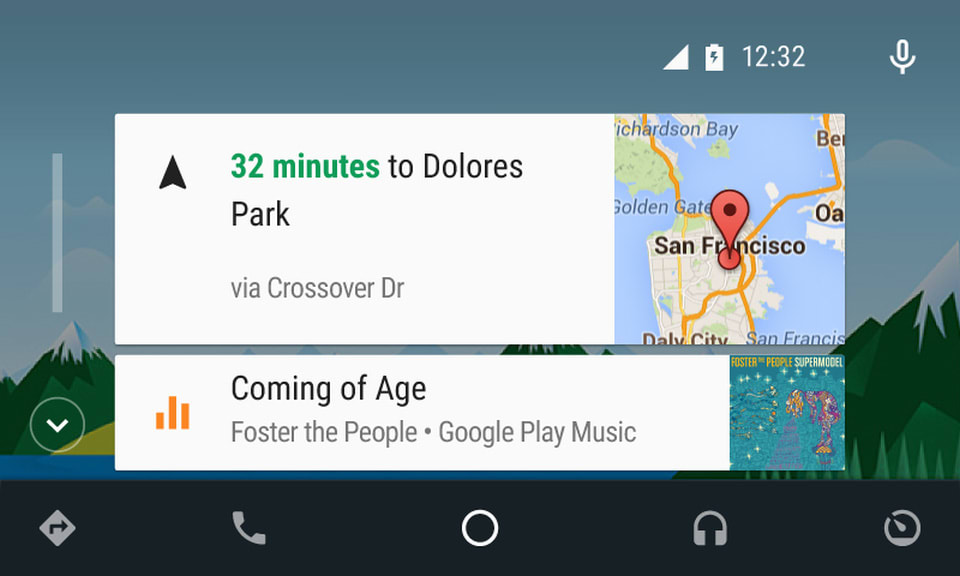 Android Auto update puts music and directions up front