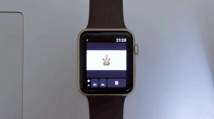 Here is a tiny GameBoy emulator for your tiny Apple Watch screen