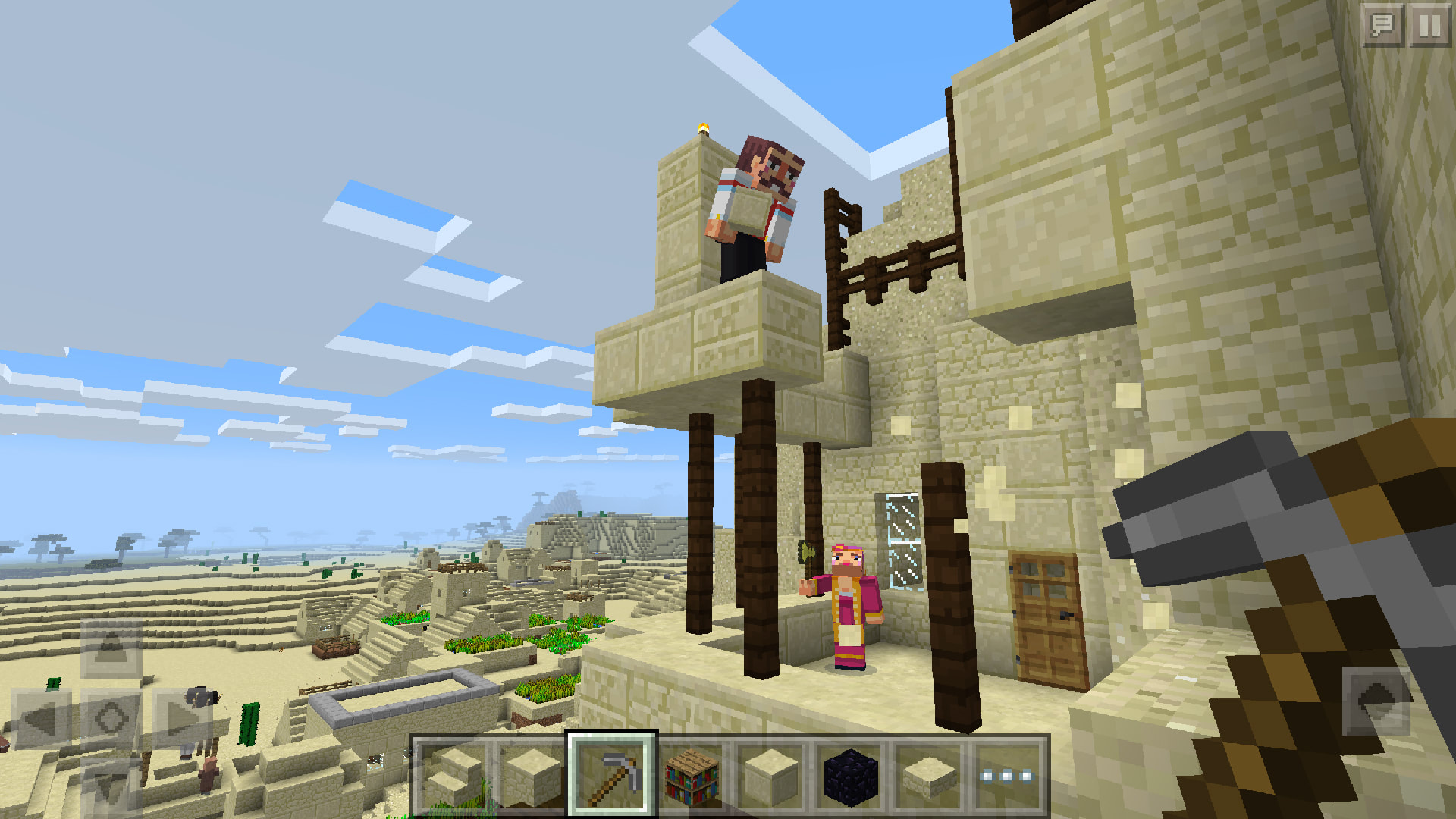 Minecraft' players on Windows 10 and mobile can now build