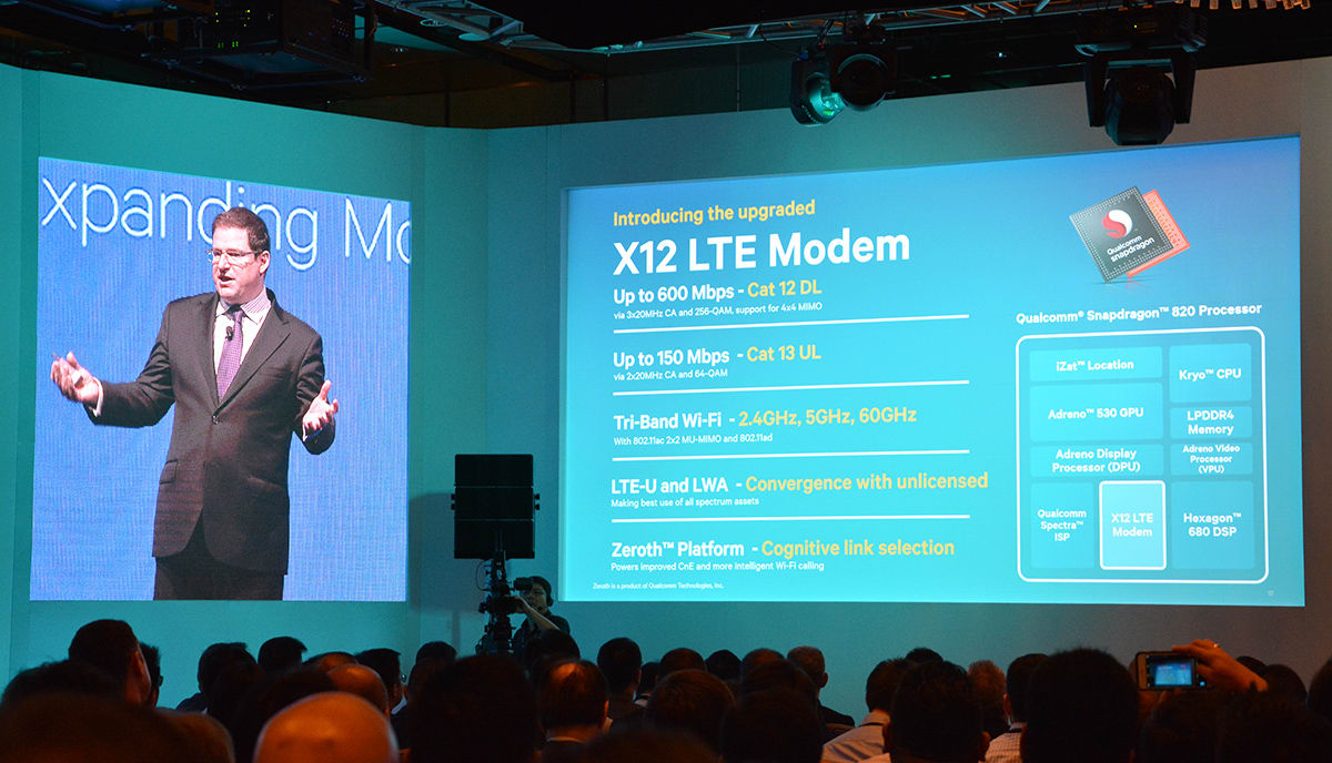 Qualcomm's Snapdragon 820 packs 600Mbps LTE and smarter charging