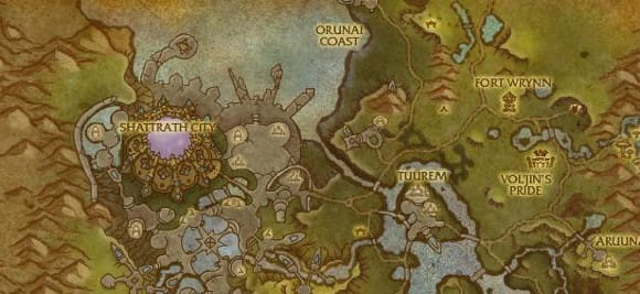 Warlords of Draenor: New maps of Auchindoun and Talador on duskwood map, wow kalimdor map, frostfire ridge map, world of warcraft world map, wow zeppelin map, ghostlands map, dalaran map, khaz modan map, silver moon city world map, tanaan jungle map, warcraft zone map,