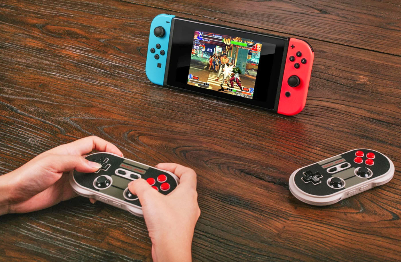 Nintendo's Switch has a retro gamepad option thanks to 8Bitdo